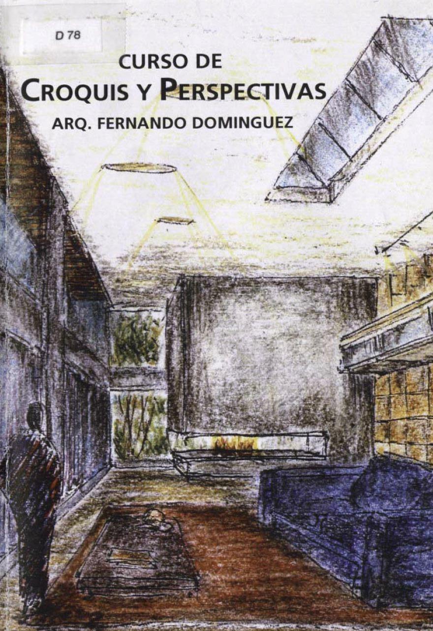 Curso de croquis y perspectiva, Fernando Dominguez