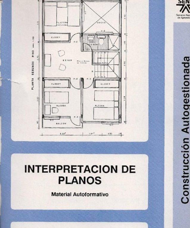 Interpretaci n de planos descargar gratis libro de for Planos de arquitectura pdf
